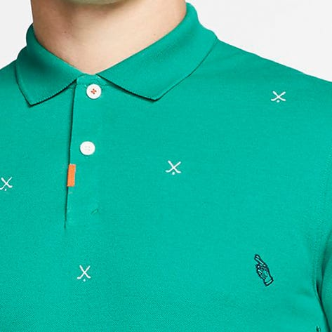 Nike Golf Shirt - The Nike Polo Slim - Green Lucky Charms SU20
