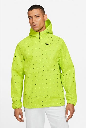 Nike Golf - Volt Green Dot Print Golf Hoodie - Spring 2021