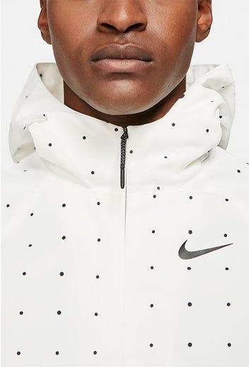 Nike Golf - White Printed Golf Hoodie - Spring 2021