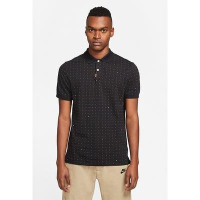 Nike Golf - Black Polka Dot Polo Shirt - Spring 2021