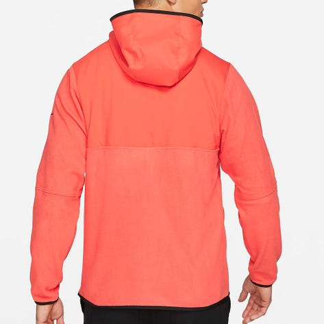 Nike Golf Pullover - NK Therma Victory Hoodie - Track Red FA21
