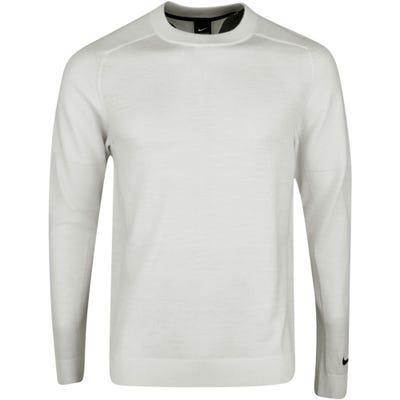 Nike Golf Jumper - TW Merino Knit Crew - Summit White FA21