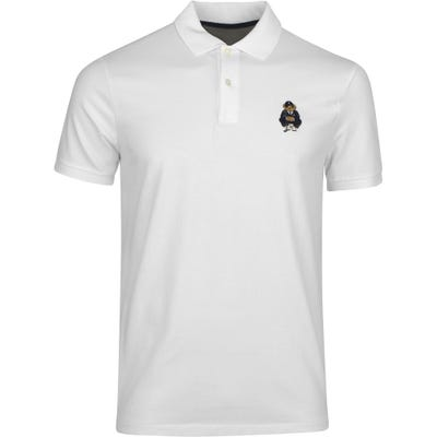 Ralph Lauren POLO Golf Shirt - Bear Logo - White PS22