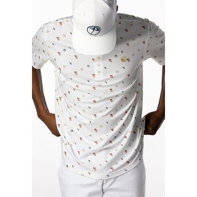 PUMA Golf - Iced Tea Print Polo Shirt - Campaign 2021