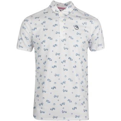 PUMA Golf Shirt - Arnold Palmer Best Friend Polo - White AW21
