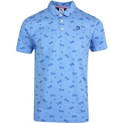PUMA Golf Shirt - Arnold Palmer Best Friend Polo - Blue AW21