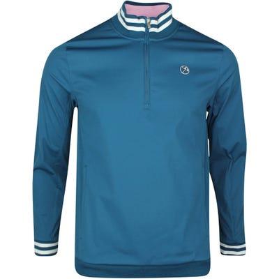 PUMA Golf Jacket - Arnold Palmer Handshake QZ - Legion Blue SS21