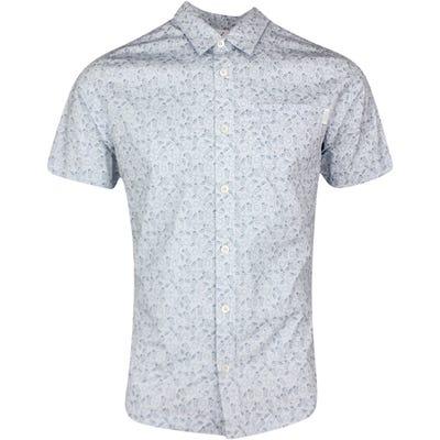 PUMA Golf Shirt - 19th Hole Button Up - Halogen Blue SS21