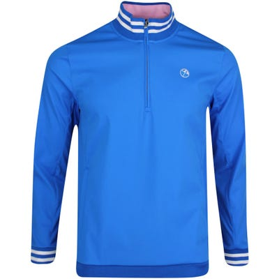 PUMA Golf Jacket - Arnold Palmer Handshake QZ - Future Blue AW21