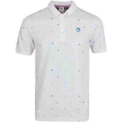 PUMA Golf Shirt - Arnold Palmer Legacy Polo - Bright White AW21