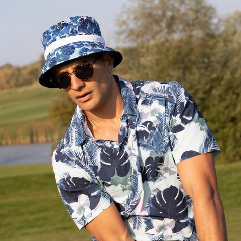 PUMA Golf Hat - Reversible Williams Bucket - Navy Blazer SS21