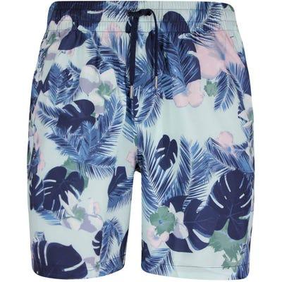 PUMA Golf Shorts - Sabbatical Floral Short - Navy Blazer SS21