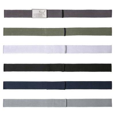 PUMA Golf Belts - 6 in 1 Web Belt Pack - Multi SS21