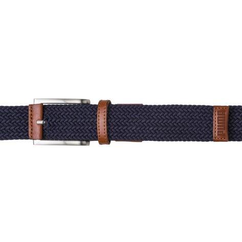 PUMA Golf Belt - X Weave Stretch - Peacoat SS20