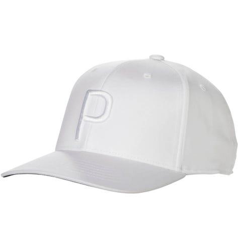 PUMA Golf Cap - P 110 Snapback - White SS19