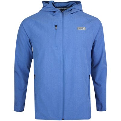 PUMA Golf Jacket - EGW Woven Hoodie - Federal Blue AW21