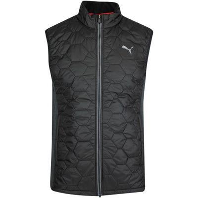 PUMA Golf Gilet - Cloudspun WRMLBL Vest - Black AW21