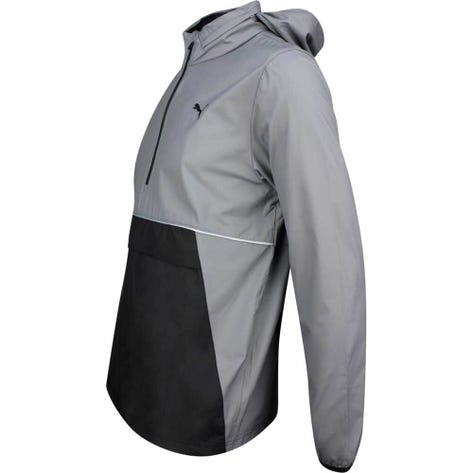 PUMA Golf Jacket - Retro Wind Hoodie - Quiet Shade LE SS19