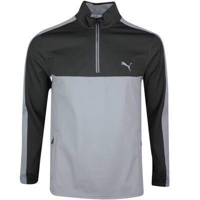 PUMA Golf Jacket - Riverwalk Woven QZ - Black SS21