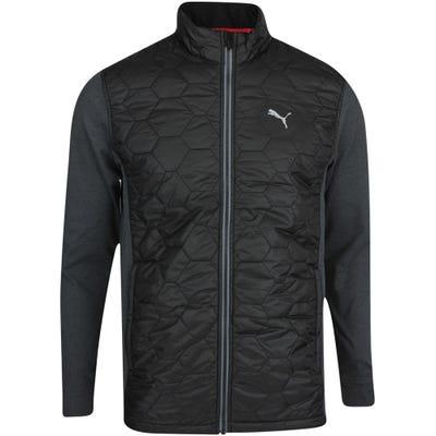 PUMA Golf Jacket - Cloudspun WRMLBL FZ - Black AW21