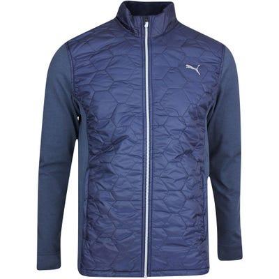 PUMA Golf Jacket - Cloudspun WRMLBL FZ - Navy Blazer AW21