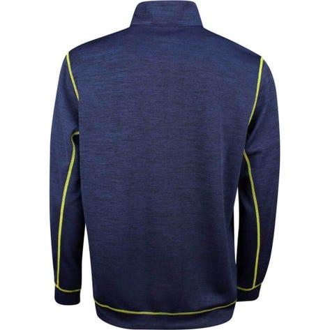 PUMA Golf Pullover - Go Low QZ - Peacoat Heather SS19