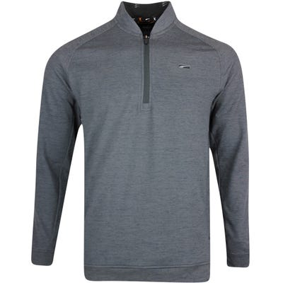 PUMA Golf Pullover - Moving Day Stealth QZ - Black Heather LE AW21