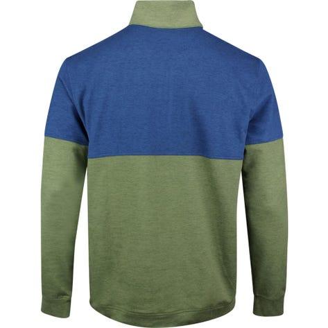 PUMA Golf Pullover - Warm Up QZ - Deep Lichen Green SS20