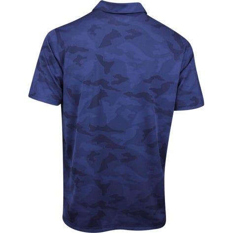 PUMA Golf Shirt - Alterknit Camo - Peacoat AW19