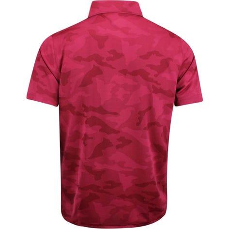 PUMA Golf Shirt - Alterknit Camo - Rhubarb AW19