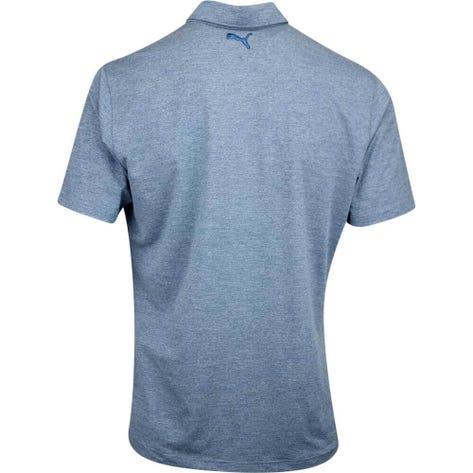 PUMA Golf Shirt - Tradewinds Button Up - Gibraltar Sea Heather AW19