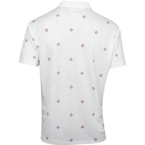 PUMA Golf Shirt - Ditsy Polo - Bright White AW19
