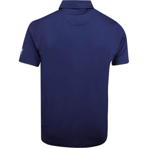 PUMA Golf Shirt - Donegal Polo - Peacoat LE AW19