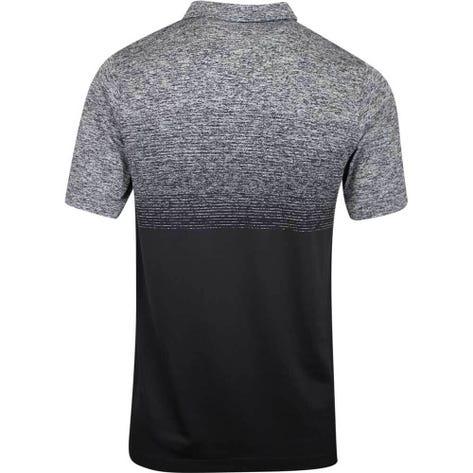 PUMA Golf Shirt - Evoknit Ombre - Black AW19