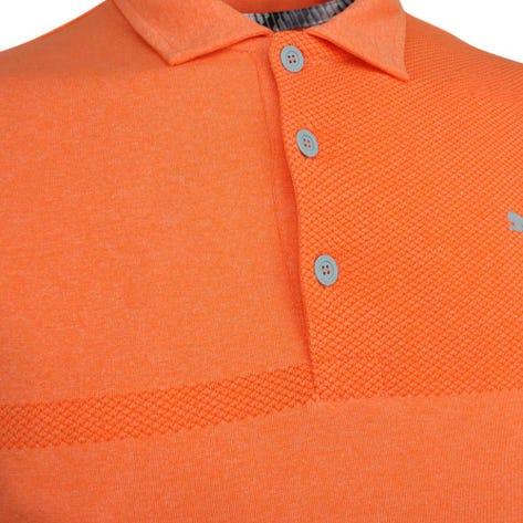 PUMA Golf Shirt - Evoknit Breakers - Vibrant Orange SS19