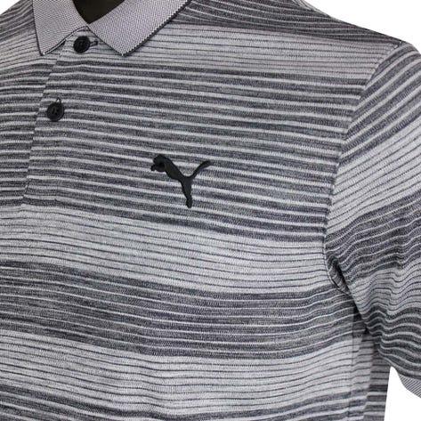 PUMA Golf Shirt - Landing Polo - Black AW20
