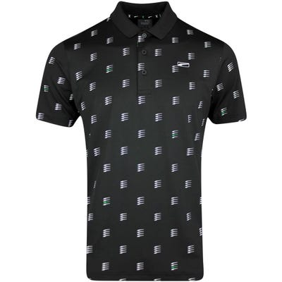 PUMA Golf Shirt - MATTR Moving Day Polo - Black LE SS21