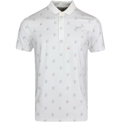 PUMA Golf Shirt - MATTR Moving Day Polo - Bright White LE AW21