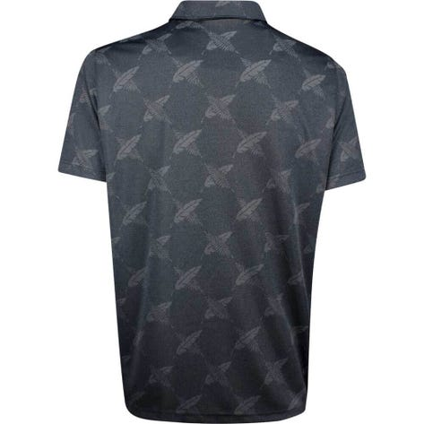PUMA Golf Shirt - Alterknit Palms - Black LE SS19