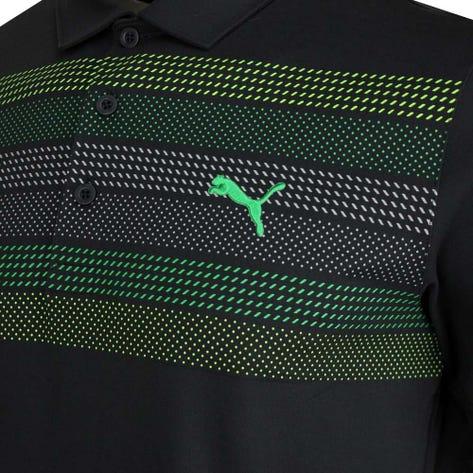 PUMA Golf Shirt - Road Map Polo - Black AW20