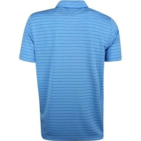 PUMA Golf Shirt - Rotation Stripe - Azure Blue SS19