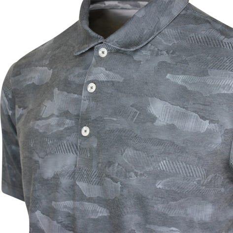 PUMA Golf Shirt - Solarized Camo Polo - Black AW20