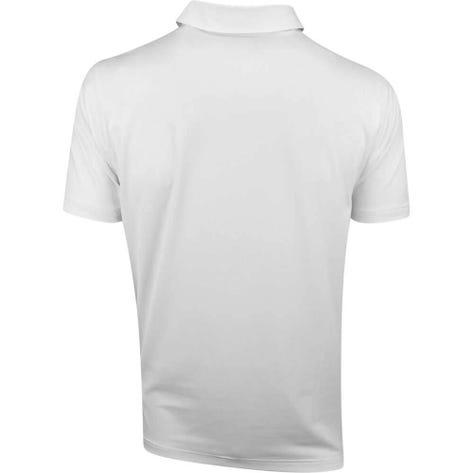 PUMA Golf Shirt - Spotlight - White - Peacoat SS19