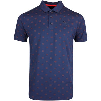 PUMA Golf Shirt - Cloudspun Bandit Polo - Navy Blazer SS21