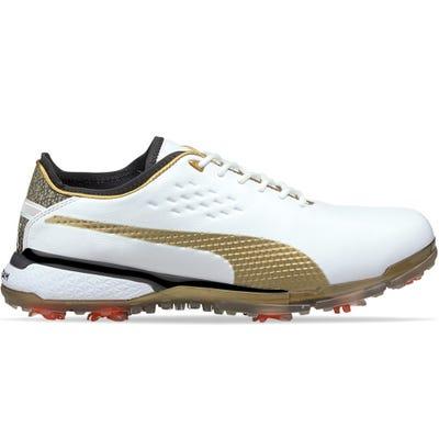 PUMA Golf Shoes - PTC PRO ADAPT Gold - White SS21