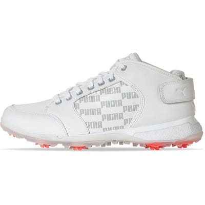 PUMA Golf Shoes - PRO ADAPT Delta Mid - White 2021
