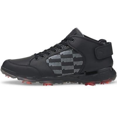 PUMA Golf Shoes - PRO ADAPT Delta Mid - Black 2021