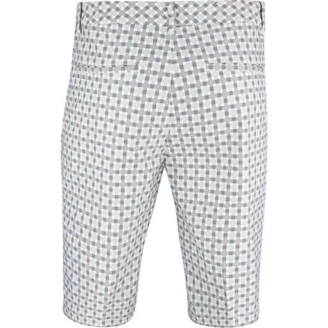 PUMA Golf Shorts - Jackpot Plaid - Quarry SS19