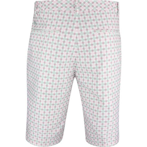 PUMA Golf Shorts - Jackpot Plaid - Pale Pink SS19