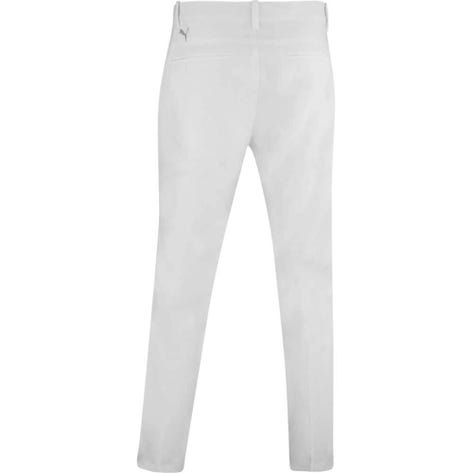 PUMA Golf Trousers - Tailored Jackpot Pant - Bright White AW20